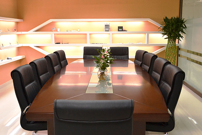 Clean and bright meeting room